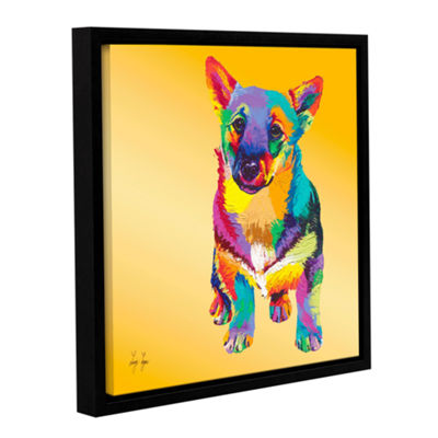 Brushstone George Gallery Wrapped Floater-Framed Canvas