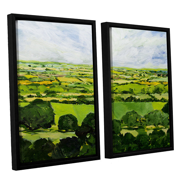 Brushstone Kensworth 2-pc. Floater Framed Canvas Wall Art
