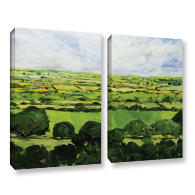 Brushstone Kensworth 2-pc. Gallery Wrapped CanvasWall Art