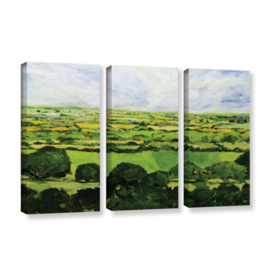 Brushstone Kensworth 3-pc. Gallery Wrapped CanvasWall Art