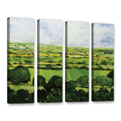 Brushstone Kensworth 4-pc. Gallery Wrapped CanvasWall Art