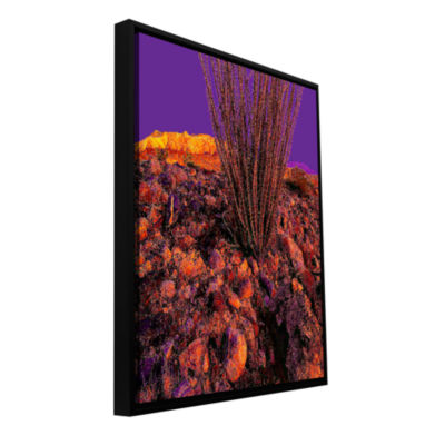 Brushstone Yuma Desert Dawn Gallery Wrapped Floater-Framed Canvas Wall Art