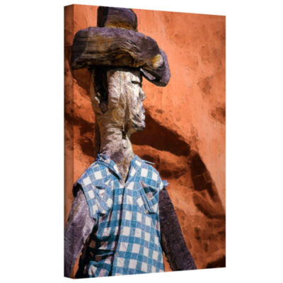 Brushstone Guardian Of The West Gallery Wrapped Canvas Wall Art