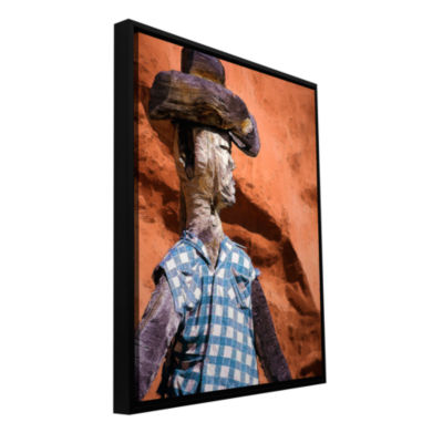 Brushstone Guardian Of The West Gallery Wrapped Floater-Framed Canvas Wall Art