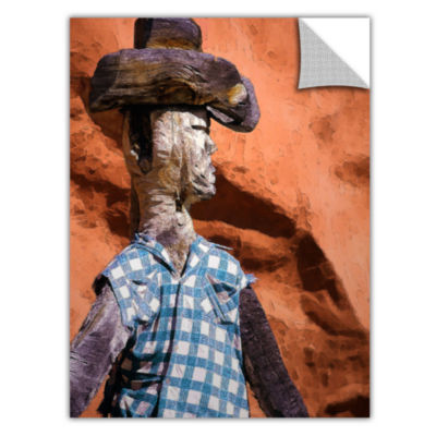 Brushstone Guardian Of The West Removable Wall Decal