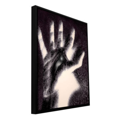 Brushstone Hand Of Healing Gallery Wrapped Floater-Framed Canvas Wall Art