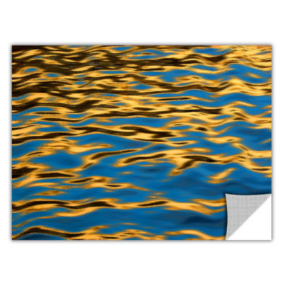 Brushstone Rogue River Ripples Removable Wall Decal