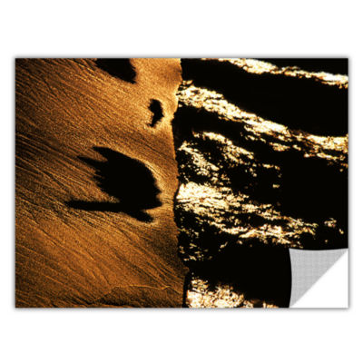 Brushstone Sand And Surf At Sunset Removable WallDecal