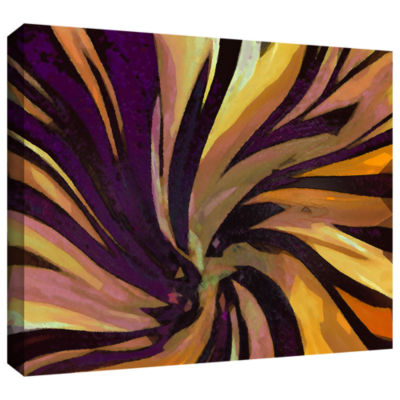 Brushstone Serpentino Suculenta Gallery Wrapped Canvas Wall Art
