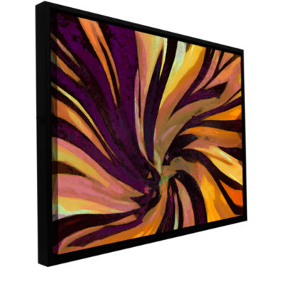 Brushstone Serpentino Suculenta Gallery Wrapped Floater-Framed Canvas Wall Art