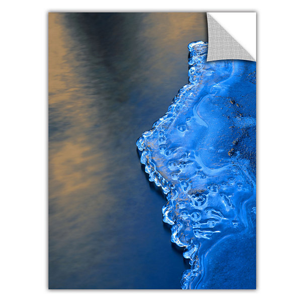 Brushstone Ice On The Merced Yosemite Removable Wall Decal