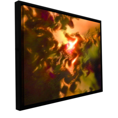 Brushstone Slow Hot Wind Gallery Wrapped Floater-Framed Canvas Wall Art