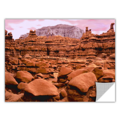 Brushstone Goblin Valley Dusk Removable Wall Decal