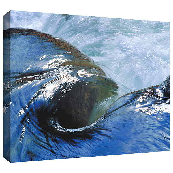 Brushstone Kern River Flow Gallery Wrapped CanvasWall Art