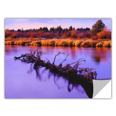 Brushstone Madison River Sunset Removable Wall Decal