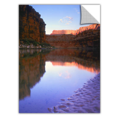 Brushstone Marble Canyon Sun Rise Removable Wall Decal