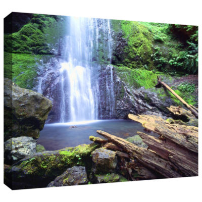 Brushstone Primal Falls Gallery Wrapped Canvas Wall Art