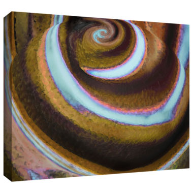 Brushstone Top Down Gallery Wrapped Canvas Wall Art