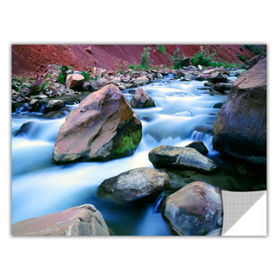 Brushstone Virgin River Dusk Zion Removable Wall Decal