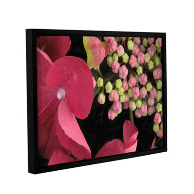 Brushstone Hydrangea Study Gallery Wrapped Floater-Framed Canvas Wall Art