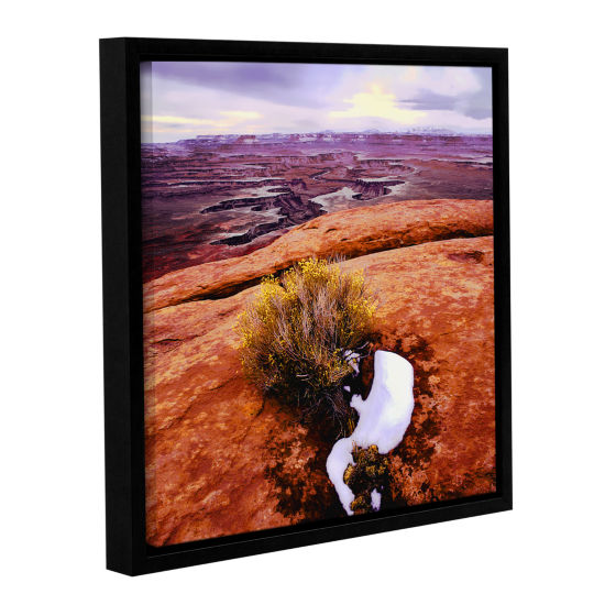 Brushstone Island in the Sky Gallery Wrapped Floater-Framed Canvas
