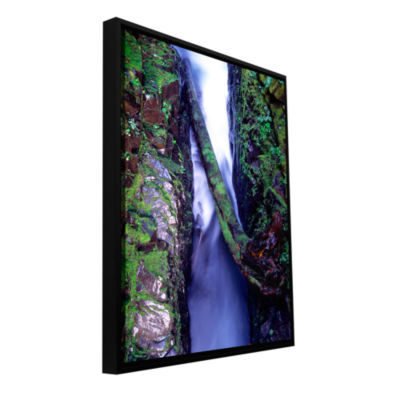 Brushstone Sol Duc River Slot Gallery Wrapped Floater-Framed Canvas Wall Art