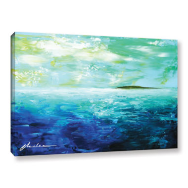 Brushstone Isle Gallery Wrapped Canvas