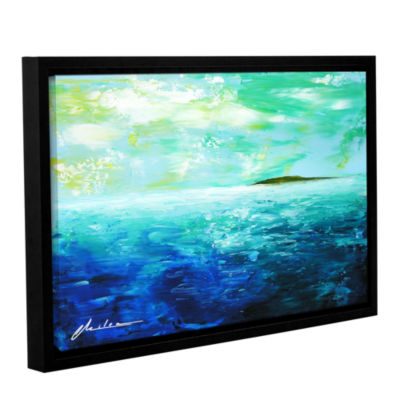 Brushstone Isle Gallery Wrapped Floater-Framed Canvas