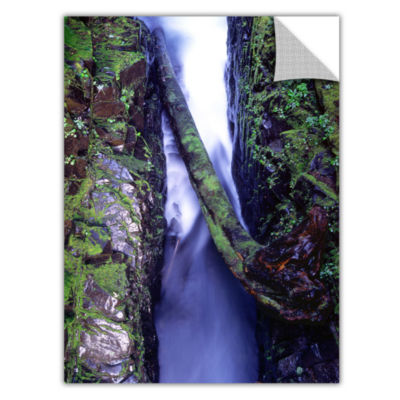 Brushstone Sol Duc River Slot Removable Wall Decal