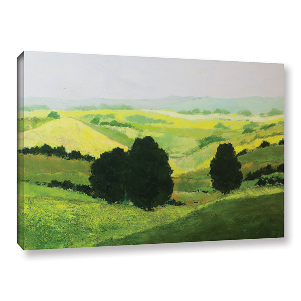 Brushstone It Grows On Tree Gallery Wrapped Canvas