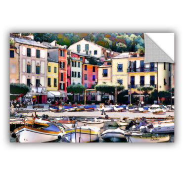 Brushstone Italy: Sunny Portofino Removable Wall Decal
