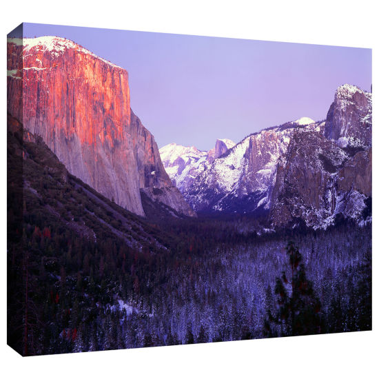 Brushstone Yosemite Valley Winter Gallery WrappedCanvas Wall Art