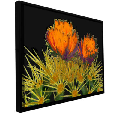Brushstone Primavera Del Desierto Gallery WrappedFloater-Framed Canvas Wall Art