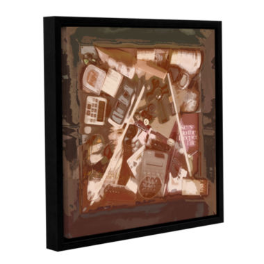 Brushstone Whatever Works Gallery Wrapped Floater-Framed Canvas Wall Art