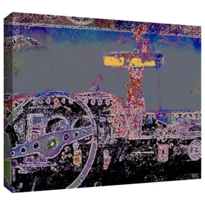 Brushstone Just Drive St. Thomas Gallery Wrapped Canvas Wall Art