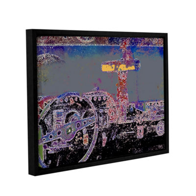Brushstone Just Drive St. Thomas Gallery Wrapped Floater-Framed Canvas Wall Art