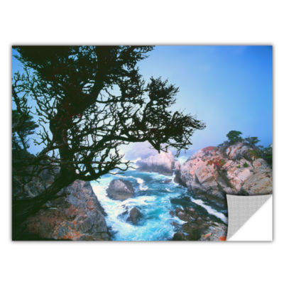 Brushstone Lifting Fog At Cypress Point RemovableWall Decal