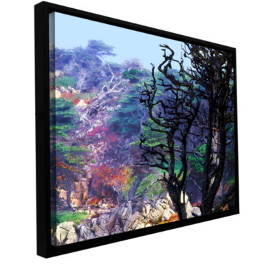 Brushstone Point Lobos Morning Gallery Wrapped Floater-Framed Canvas Wall Art