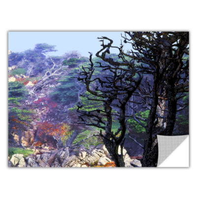 Brushstone Point Lobos Morning Removable Wall Decal