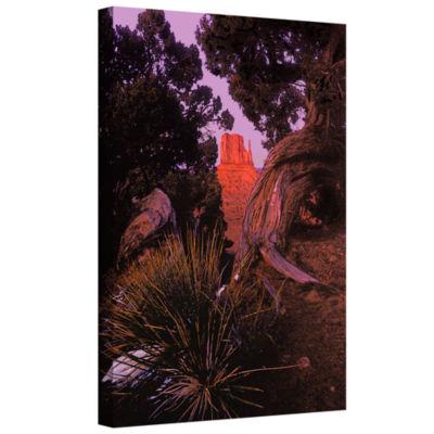 Brushstone Thors Hammer Impression Gallery WrappedCanvas Wall Art