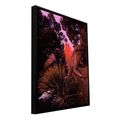 Brushstone Thors Hammer Impression Gallery WrappedFloater-Framed Canvas Wall Art