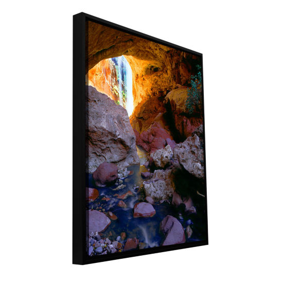Brushstone Tonto Natural Bridge Gallery Wrapped Floater-Framed Canvas Wall Art
