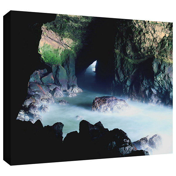Brushstone Sea Lion Cave Gallery Wrapped Canvas Wall Art