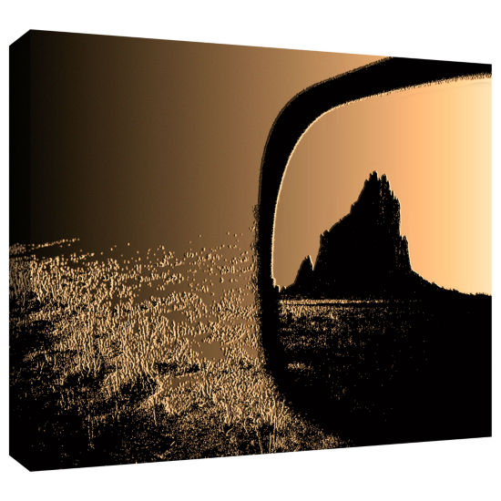 Brushstone Shiprock Gallery Wrapped Canvas Wall Art
