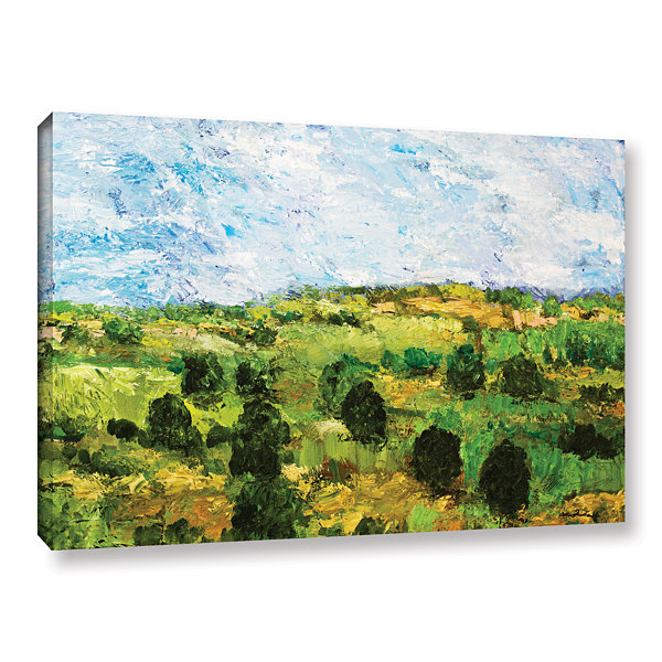 Brushstone Just Roll Along Gallery Wrapped CanvasWall Art