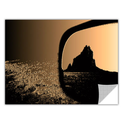 Brushstone Shiprock Removable Wall Decal