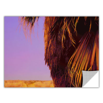 Brushstone Twilight Palm Borrego Removable Wall Decal