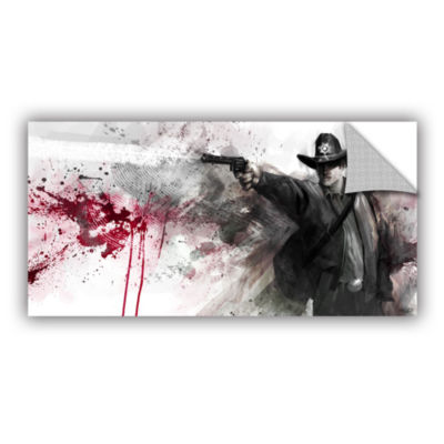Brushstone Justice Removable Wall Decal