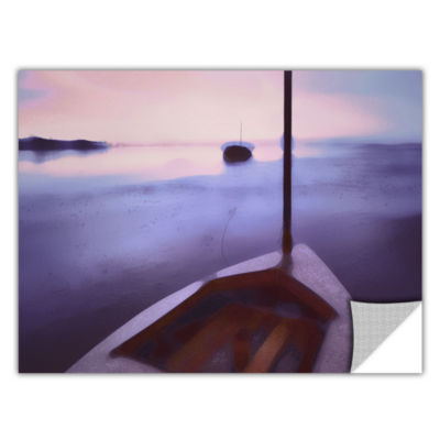 Brushstone Twilight Tide Removable Wall Decal