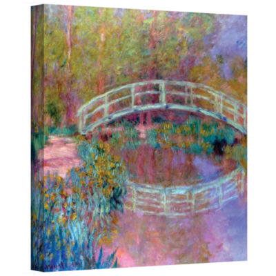 Brushstone Japanese Bridge Gallery Wrapped Canvas